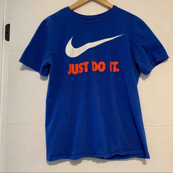 """Nike   Graphic """"Just Do It"""" Tee Shirt"""